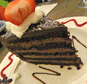 North Shore Dish » mile high chocolate cake